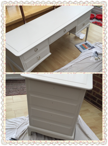 Dressing table and bedside table